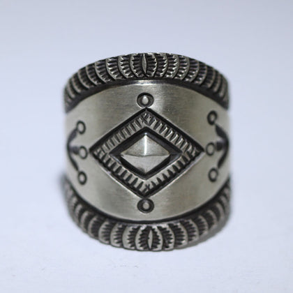 Stamp Ring by Herman Smith 8.75