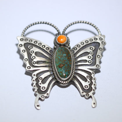 Butterfly Pin Pendant by Herman Smith