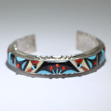 Inlay Bracelet by Virginia Quam 5-3/4inch