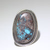 Bisbee Ring by Robin Tsosie size 10