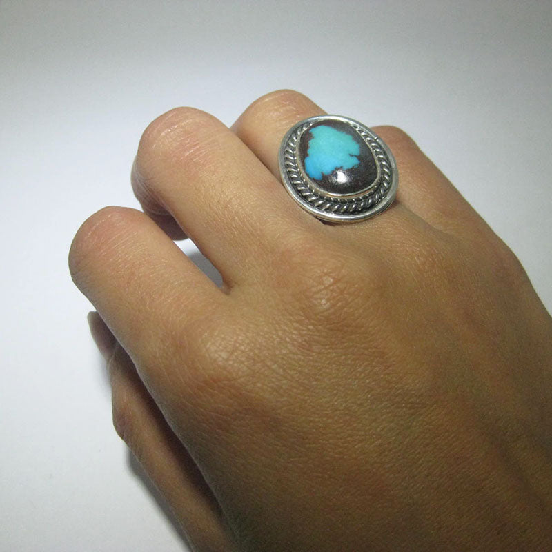 Bisbee Ring by Fred Peters size 6.5