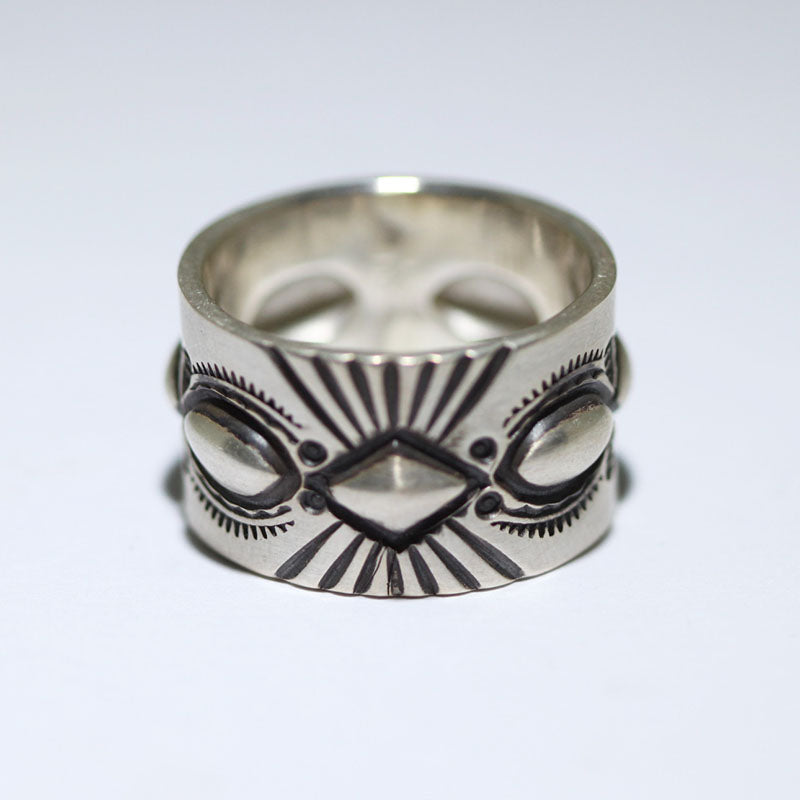 Stampwork Ring by Wilson Jim size 7.5