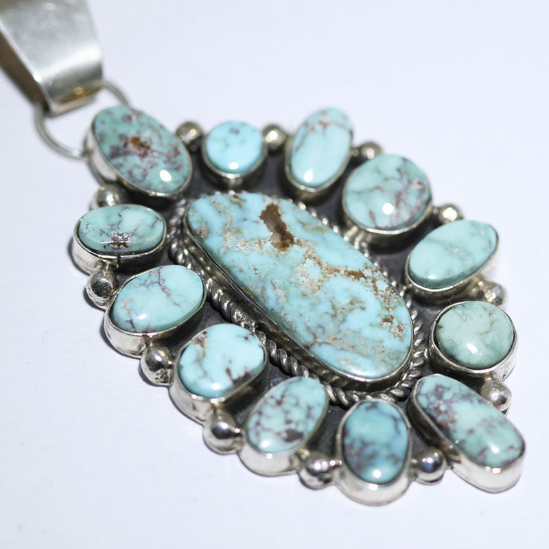 Valley Blue Cluster Pendant by Fred Peters