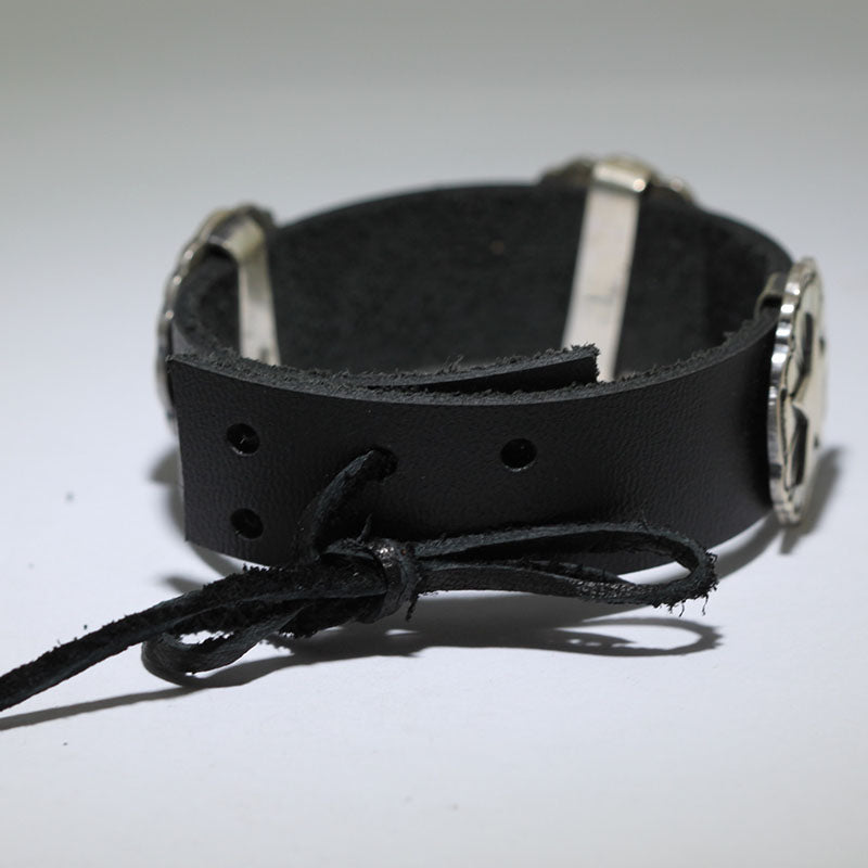 Leather Bracelet by Bo Reeves
