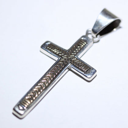 14K&Silver Pendant by Bruce Morgan