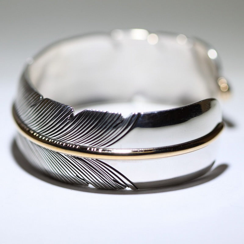 Feather Bracelet by Harvey Mace