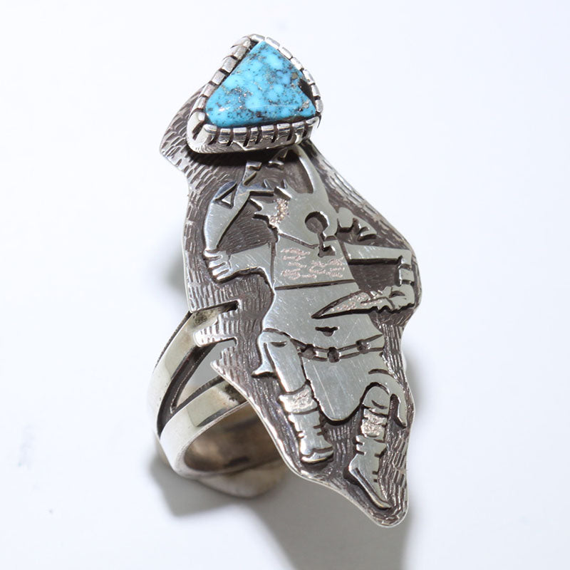 Zuni Inlay Ring Size 7