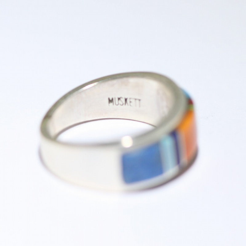 Inlay Ring Size 5