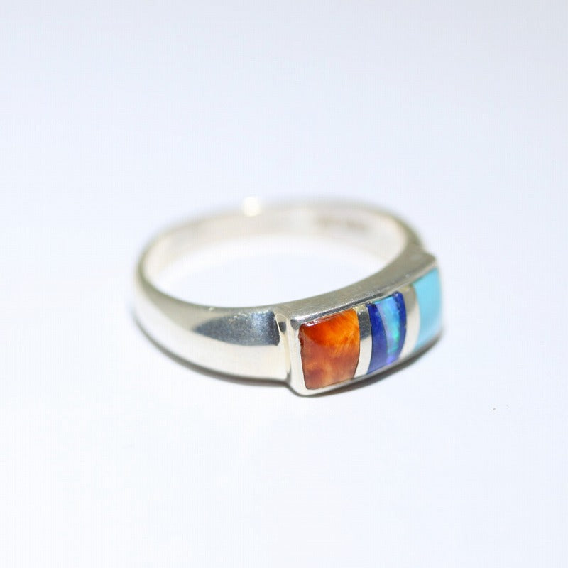 Inlay Ring by Stone Weaver Size 7.5