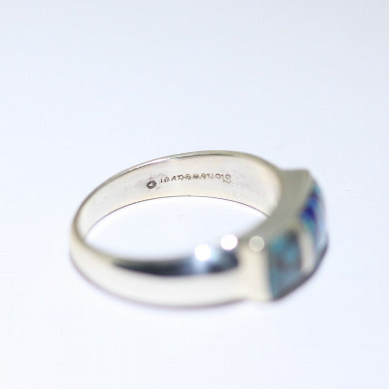 Inlay Ring by Stone Weaver Size 6.5