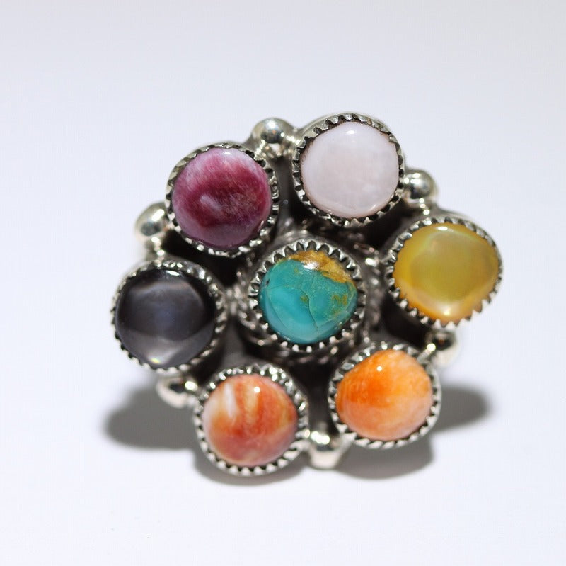 Cluster Ring by Phyllis Coonsis Size 8.5