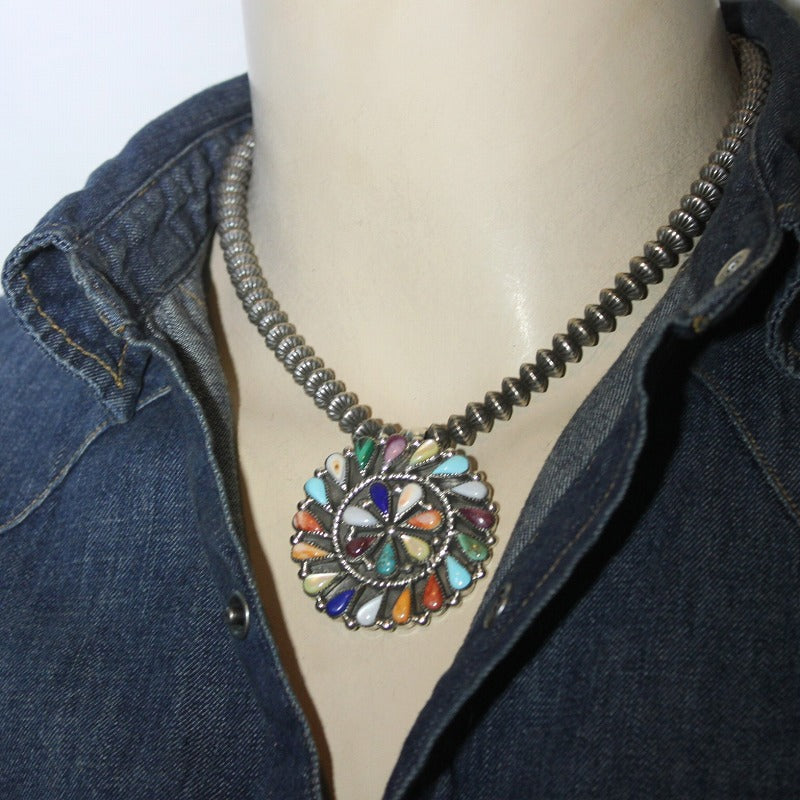 Cluster Pin Pendant by Phyllis Coonsis