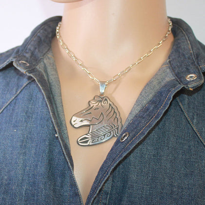 Inlay Pendant by Brian Tom