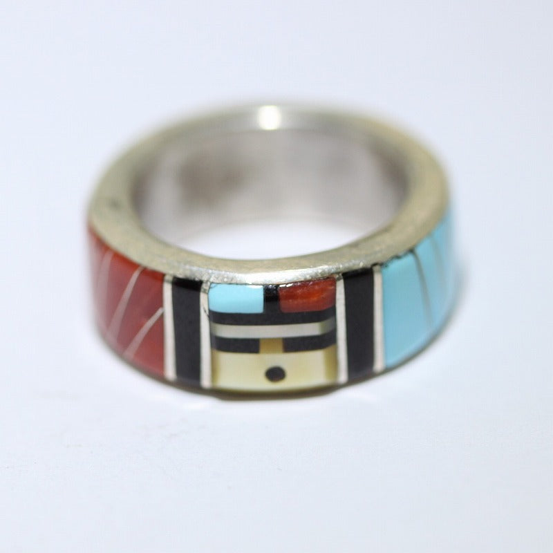 Inlay Ring by Don Dewa Size 8