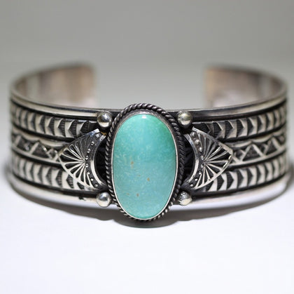 Fox Turquoise Bracelet by Sunshine Reeves 5-1/2inch