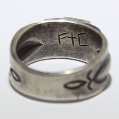 White Buffalo Ring Adjustable