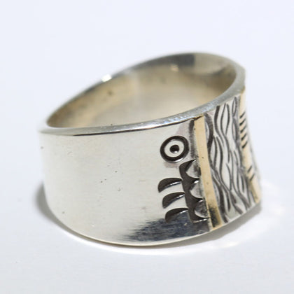 Bisbee Ring by Arnold Goodluck size 8