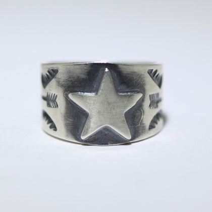 Stampwork Ring by Sunshine Reeves