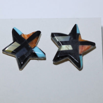 Star Earrings by Joe & Angie Reano