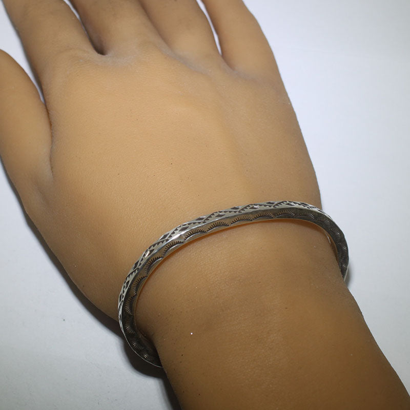 Inlay Ring by Stone Weaver size 7