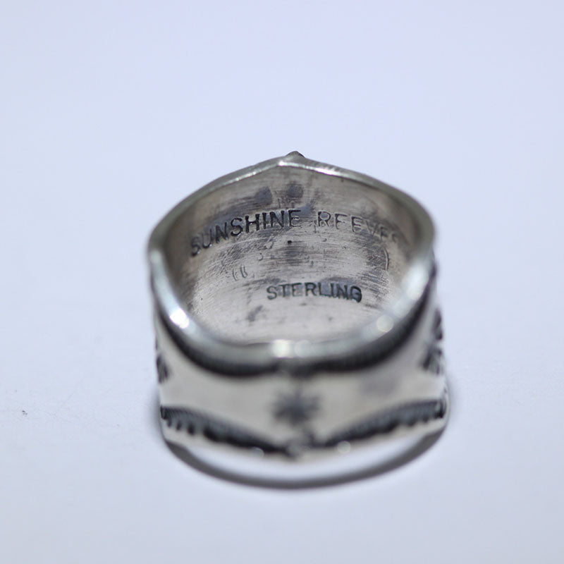 Stampwork Ring by Sunshine Reeves size 7.5