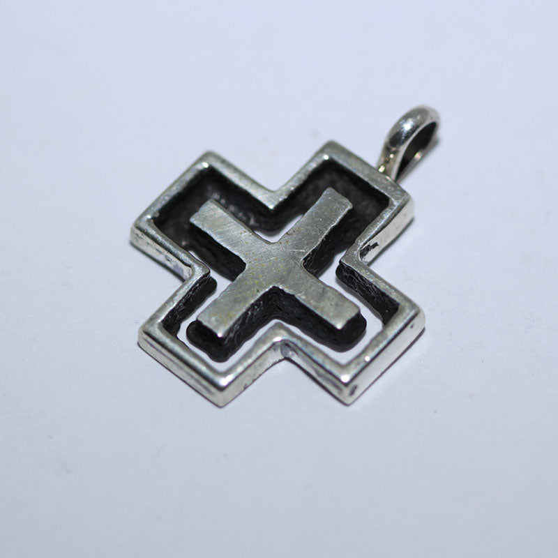 Cross pendant by Aaron Anderson