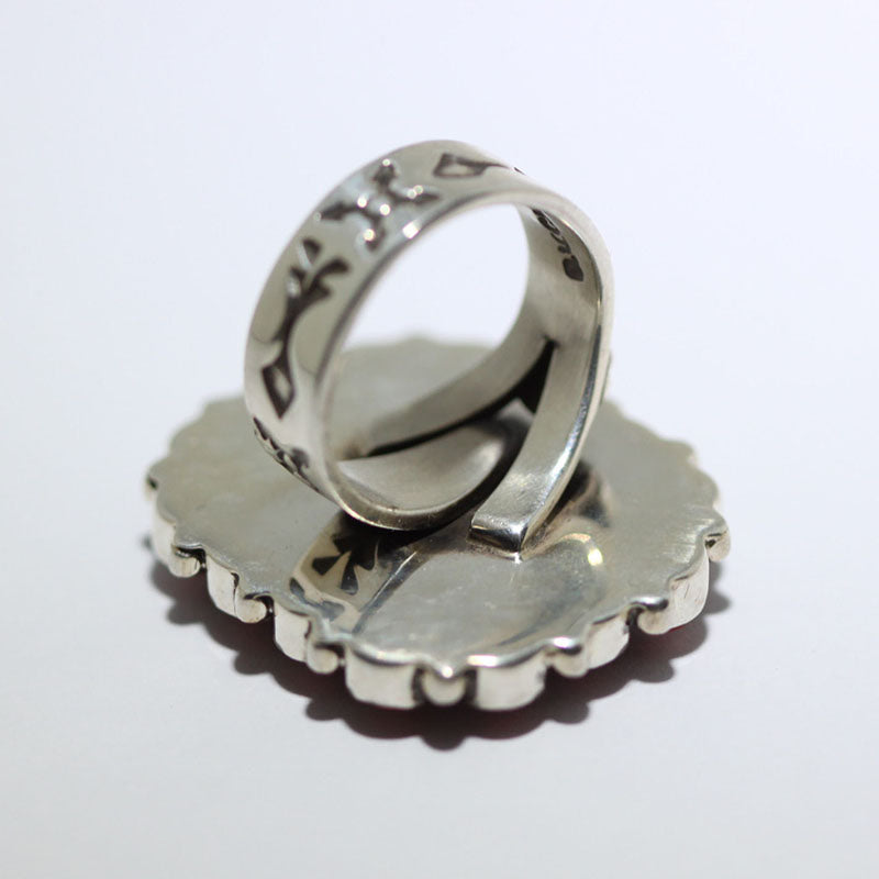 Number 8 Cluster Ring by Darrell Cadman size 7
