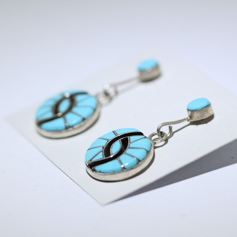 Friendship Inlay Earring by Amy Wesley