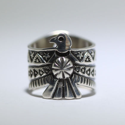 Thunderbird Ring by Darrell Cadman size8-9