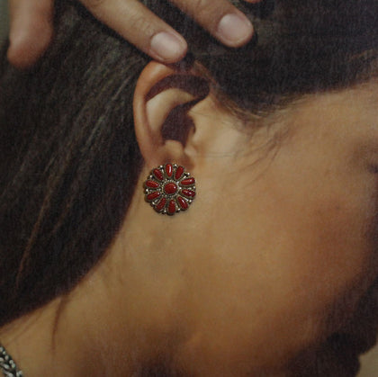 Concho Earring by Arnold Goodluck