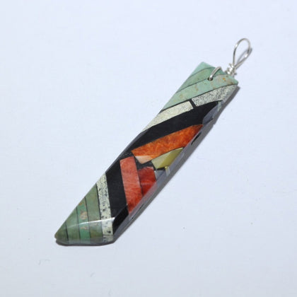 Multi-color Pendant by Joe & Angie Reano