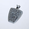 Hopi Pendant by Gary and Elsie Yoyoki