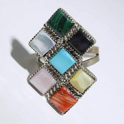 Cluster Ring by Phyllis Coonsis Size 8