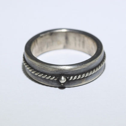 Silver Ring by Steve Arviso Size 8