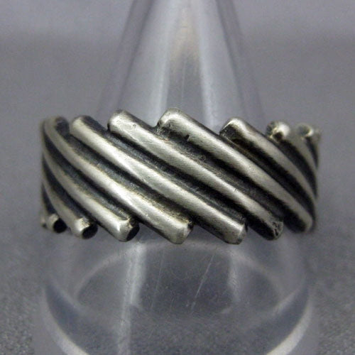 Sterling Silver Ring by Steve Arviso