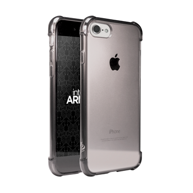 Apple iPhone 7 Dura (Anti-Scratch) Case - Black/Smoke