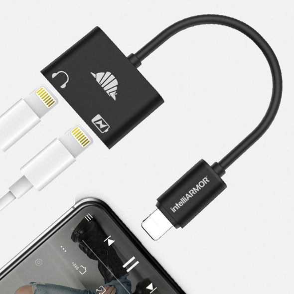 intelliARMOR - PRO GEAR Dual Lightning Audio & Charging Adapter