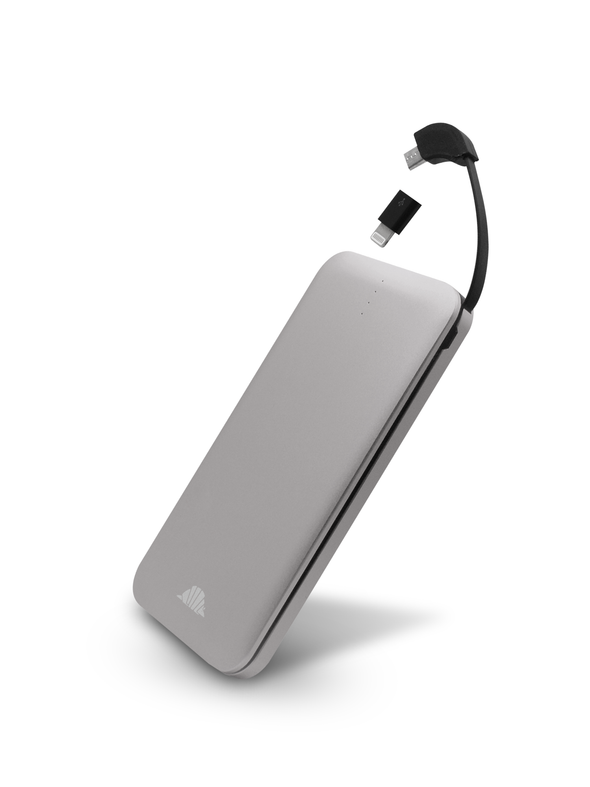 intelliARMOR - 8000mAh USB Slim Power Bank