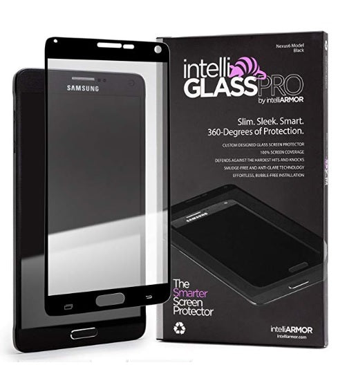 intelliGLASS PRO - Samsung Galaxy Note 4 - Black