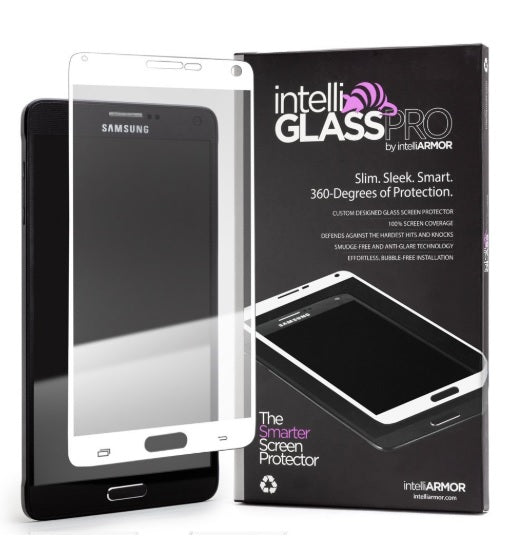 intelliGLASS PRO - Samsung Galaxy Note 4 - White