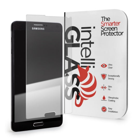 intelliGLASS HD - Samsung Galaxy Note 4 (Red Packaging)