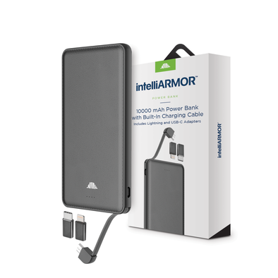 intelliARMOR - 10000mAh USB Slim Power Bank