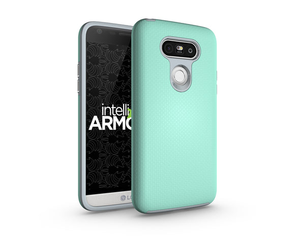 LG G5 Sentry Case - Aqua Green/Gray