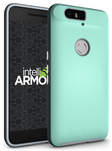 Huawei Nexus 6P Sentry Case - Aqua