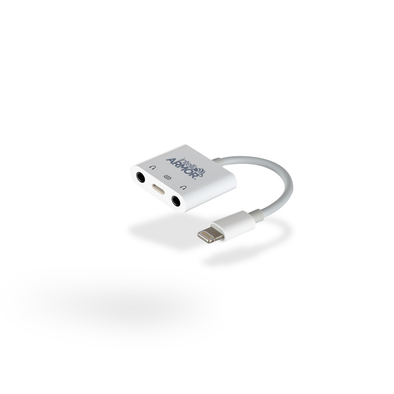intelliARMOR - Dual 3.5mm Audio & Lighting Adapter