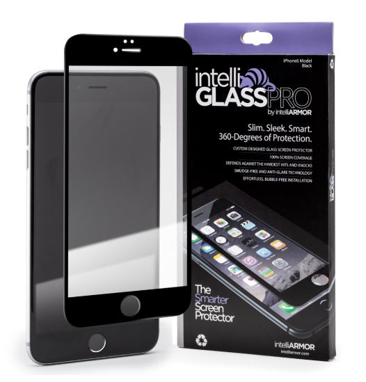 intelliGLASS PRO - Apple iPhone 7 (EDGE-TO-EDGE) - Black