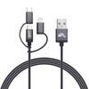 intelliARMOR - Lightning Cable 3in1 - Braided