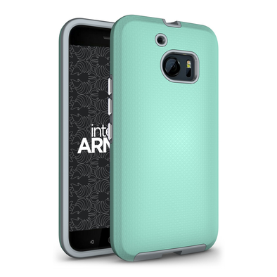 HTC M10 Sentry Case - Aqua/Gray