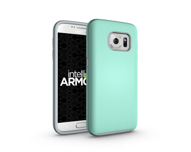 Samsung Galaxy S7 Sentry Case - Aqua/Gray