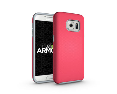 Samsung Galaxy S7 Sentry Case - Pink/Gray